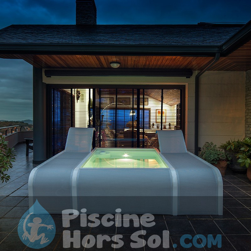 Piscine StarPool Imitation Graphite 500x300x120 P500GF