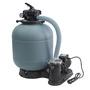 Piscine Gre Sunbay Vermela 672x472x146 790090