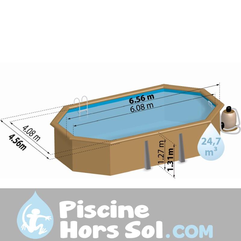 Piscine Enterrée StarPool 420x120 PE4227