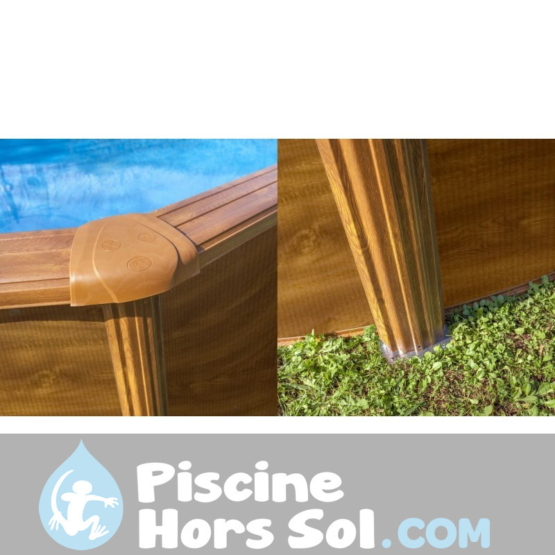 Chelle s curit 98 cm 2x2 chelons gre es090 for Barriere de securite piscine hors sol