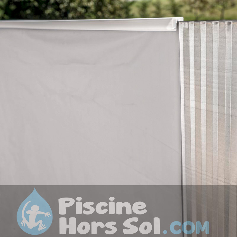 Échelle inoxydable pour piscine en bois Gre 126673