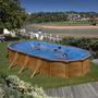 Cabine Technique en Bois Sunbay pour Filtre à Sable