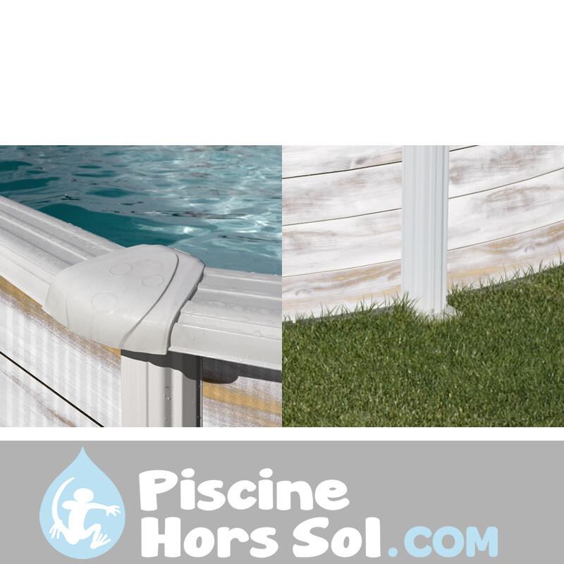 Douche Solaire 35 l PVC Frontale Silver Gre DSPS35