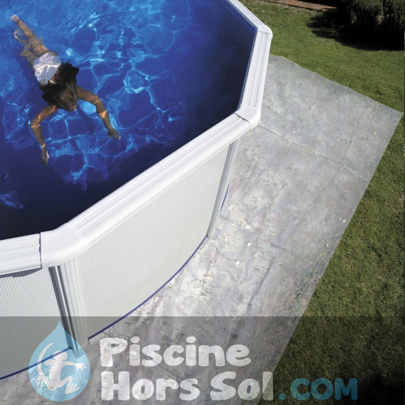 Piscine gre atlantis 610x375x132 kitprov618 for Aspirateur piscine hors sol video