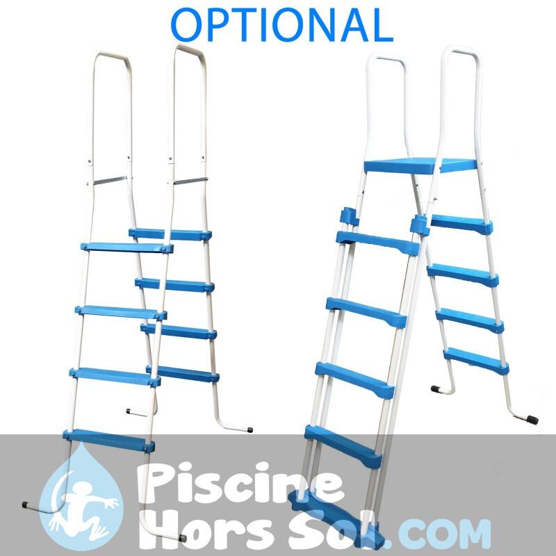 Piscine StarPool Blanche 500x350x132 PROV518