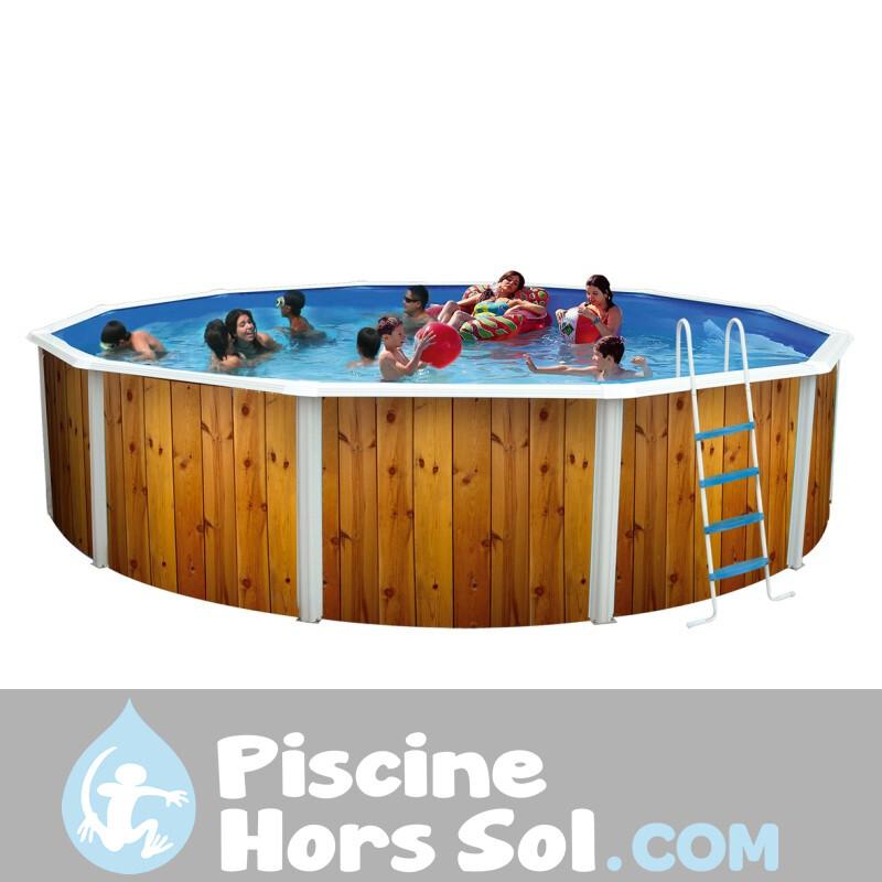 Piscine Gre Creta 610x375x132 KITPROV6188NRT