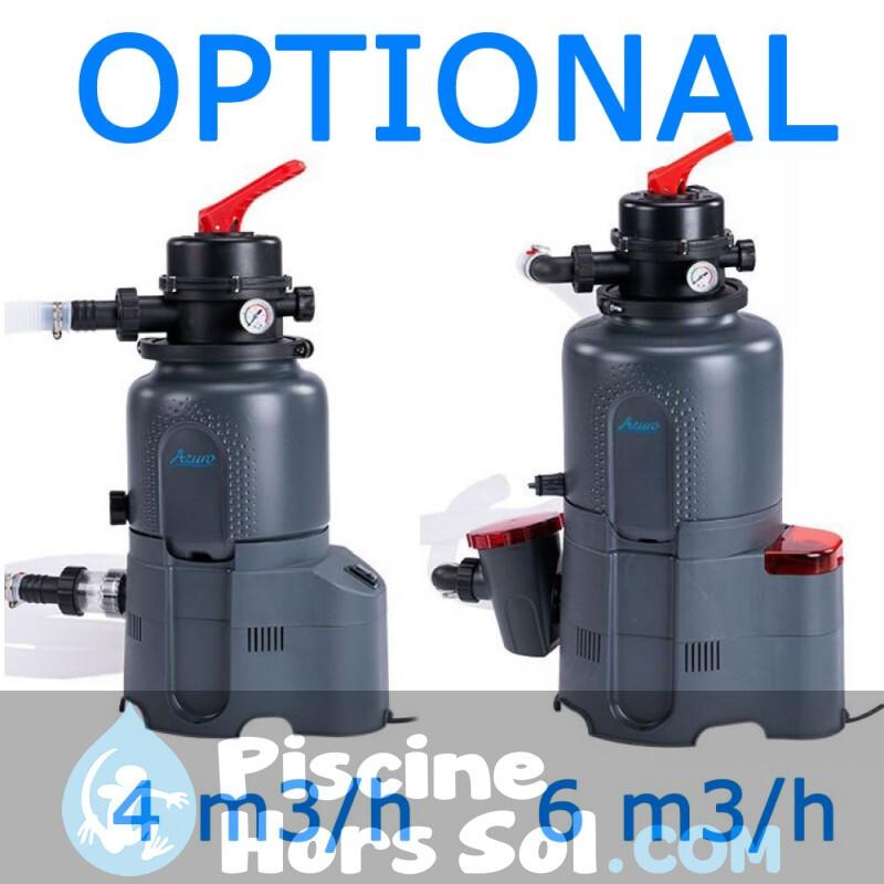 Piscine Toi Mur 350x90 8520