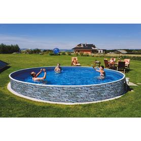 Chaise de plage petite avec 7 positions et poignée intégrée