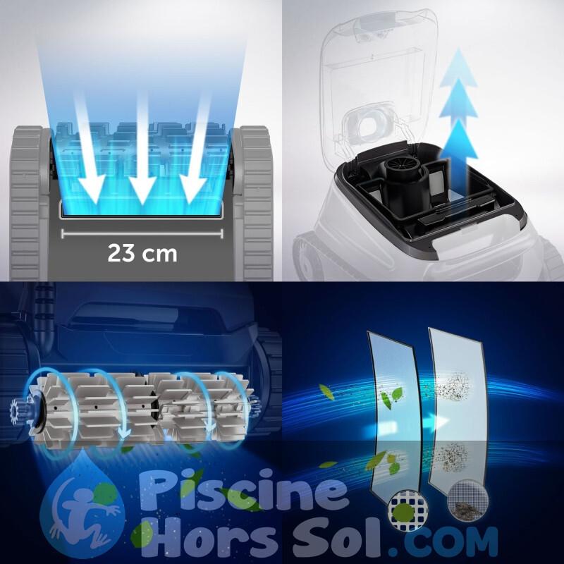 Piscine Tubulaire Toi Basics Fuchsia 300x55 3111