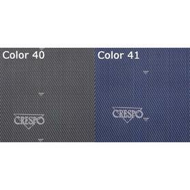 Fauteuil extra-plat Air Elegant avec 7 positions matelassé compact