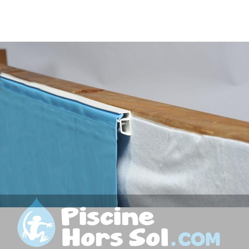 Protecteur de Sol de Piscine Imitation Herbe Gre MPF509GR