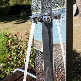 Fauteuil en aluminium avec dossier haut avec 7 positions et multifibre
