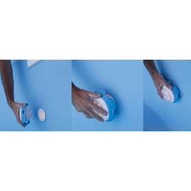 Table rectangulaire en aluminium et pieds télescopiques extensibles 110x70 cm