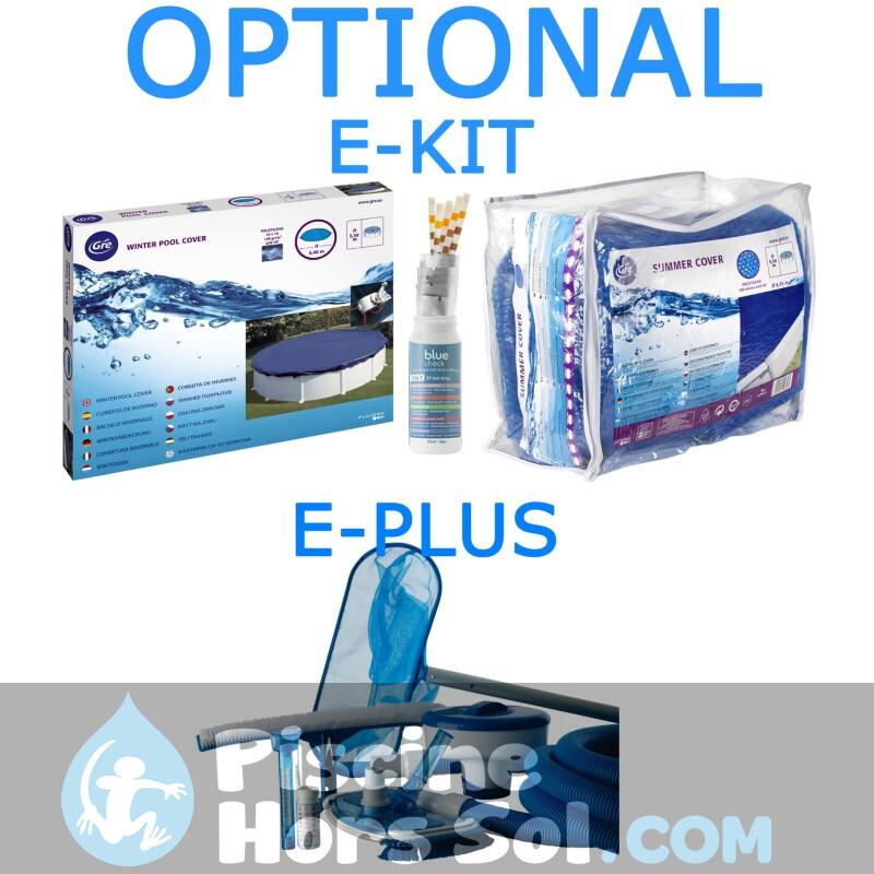 Piscine gre java 460x120 kit460nrt for Piscine gre accessoire