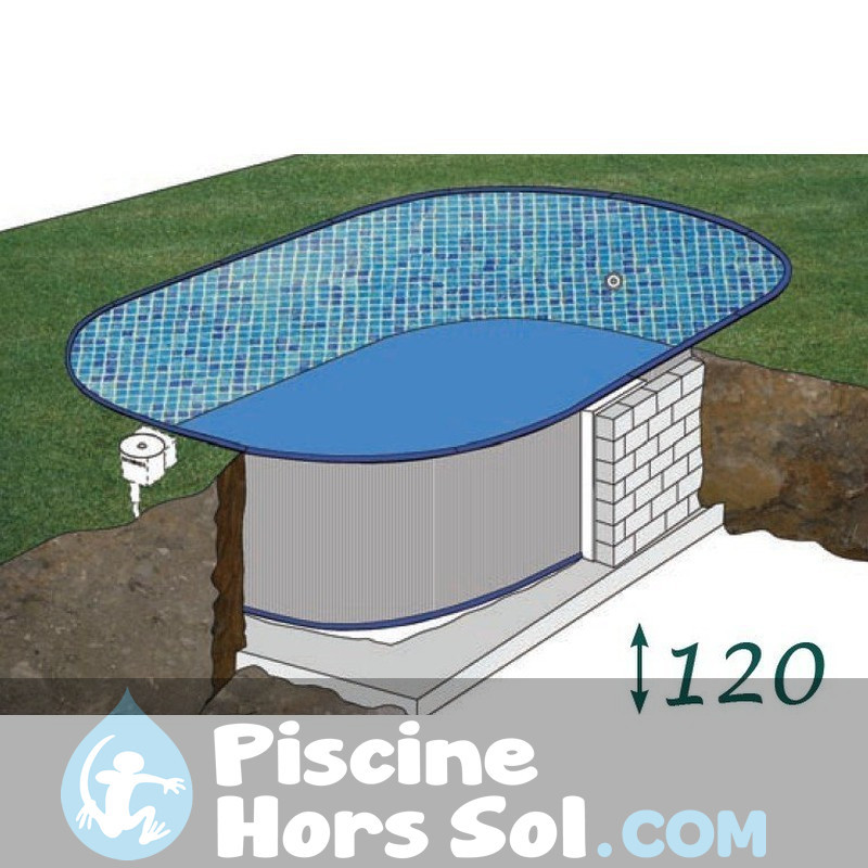 Piscine StarPool Blanche 500x300x132 PROV508