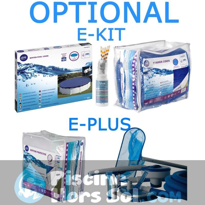 Piscine StarPool Blanche 730x375x132 PROV738