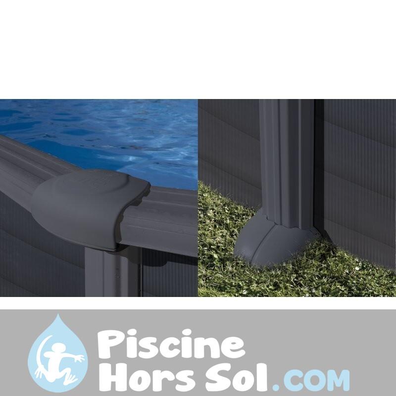 Piscine Gre Sunbay Vermela 672x472x146 790098