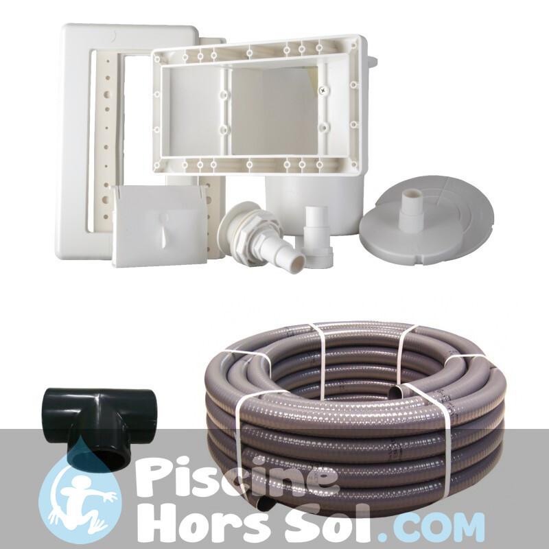 Piscine StarPool Blanche 460x120 P460ECO
